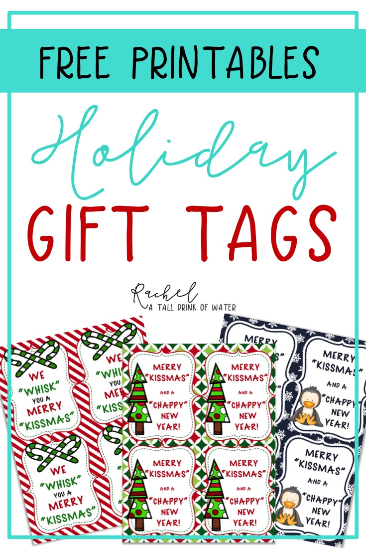 5 Easy Gift Ideas for Your Coworkers, Friends, and Neighbors with free printable tags.