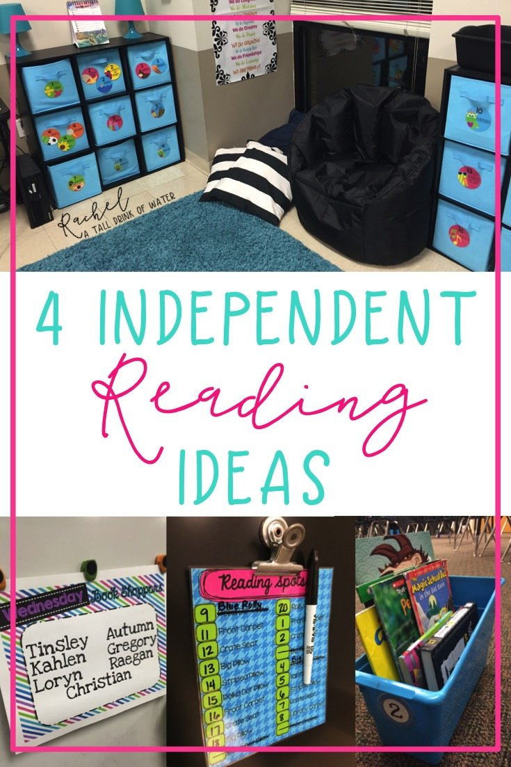 Independent reading ideas to help your students be successful!