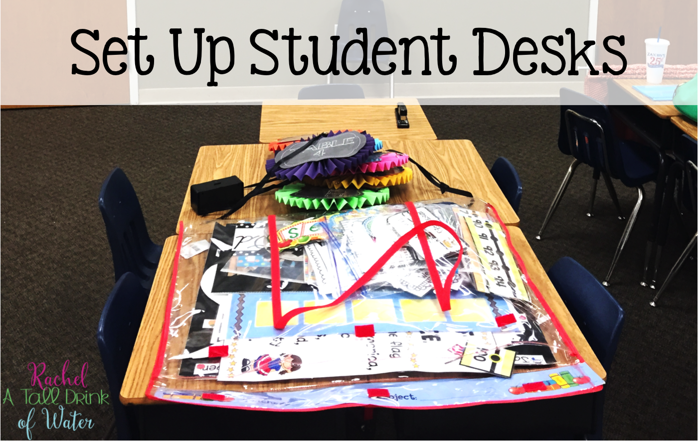 Dread setting up your classroom at the beginning of the year? Sometimes you just need to keep it simple. See how to set up your classroom in 2 hours!