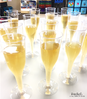 Celebrate New Year's Day in the classroom with goal setting activities and a toast to the new year!