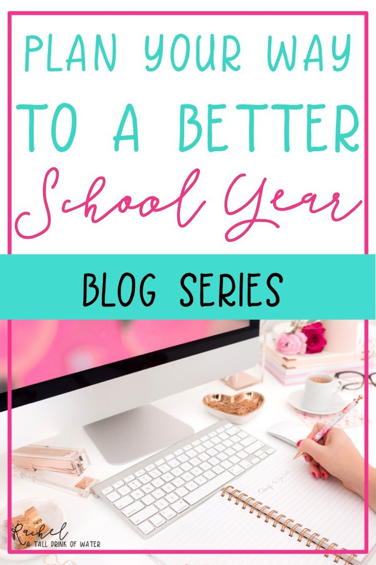 How Year Long Planning Can Save You Time - Planning Your Way to a Better School Year - Free Template