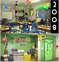 Classroom Decorating themes and ideas with classroom pictures.