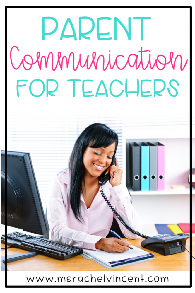 Parent communication for teachers is important for a successful year