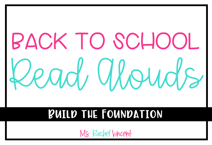 Back to School Read Aloud Title