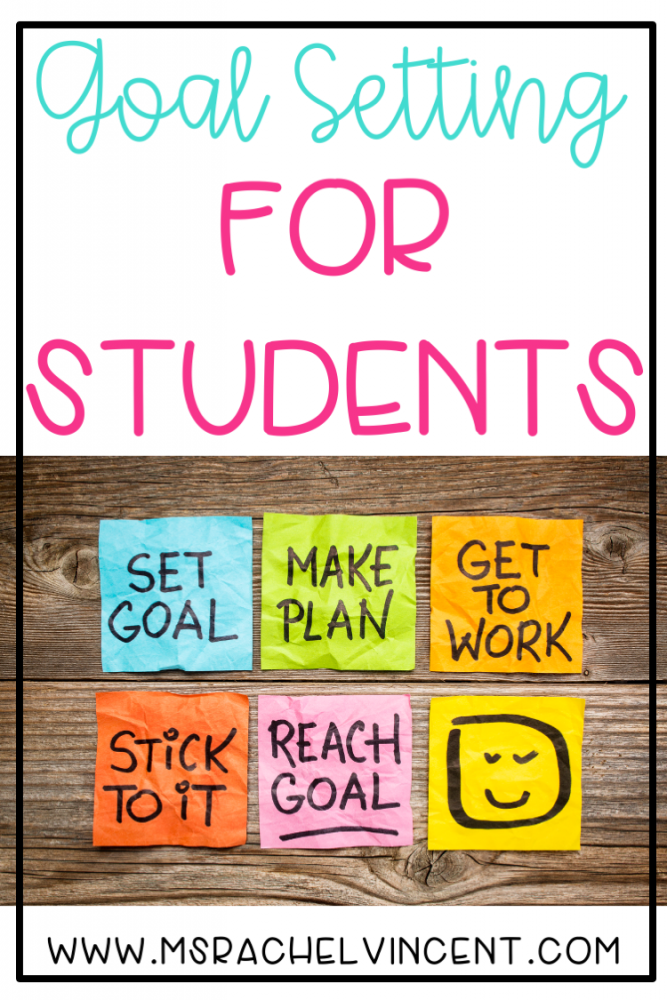 Goal Setting for Students Pin