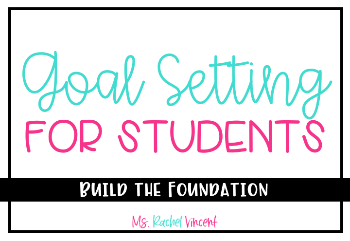 Goal Setting for Students Title