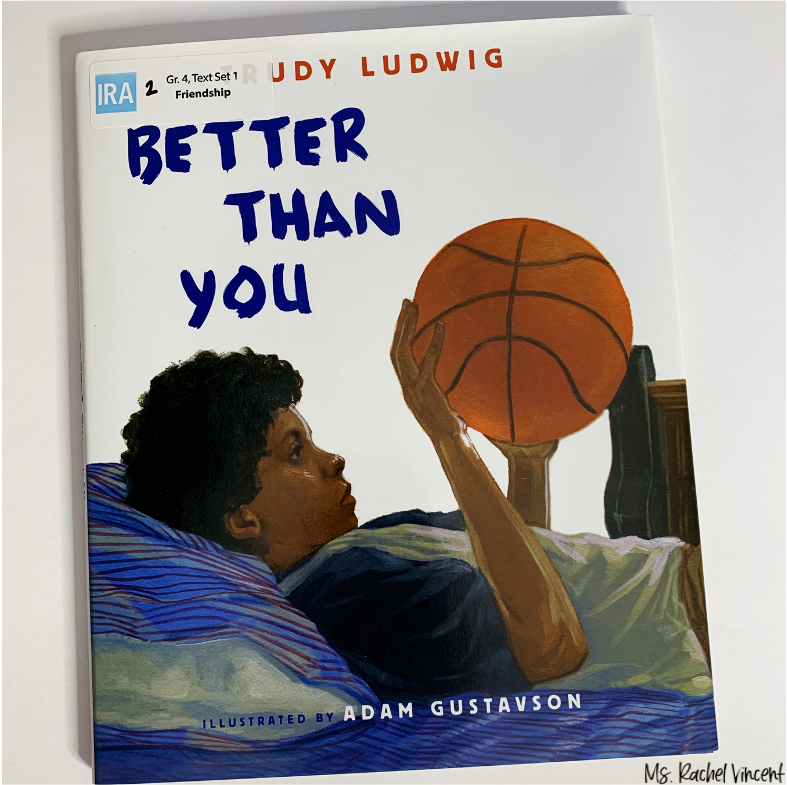 Better Than You is great for teaching theme.