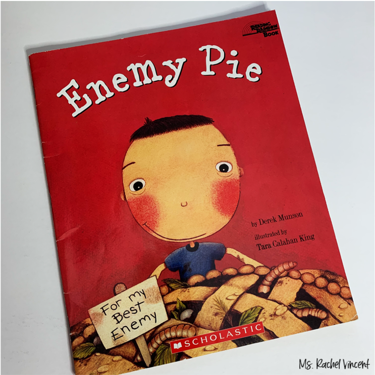 Enemy Pie is a great book to use for how a character changes in a story.