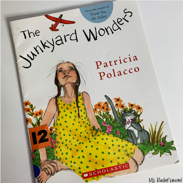 The Junkyard Wonders is perfect for teaching upper elementary fiction skills.