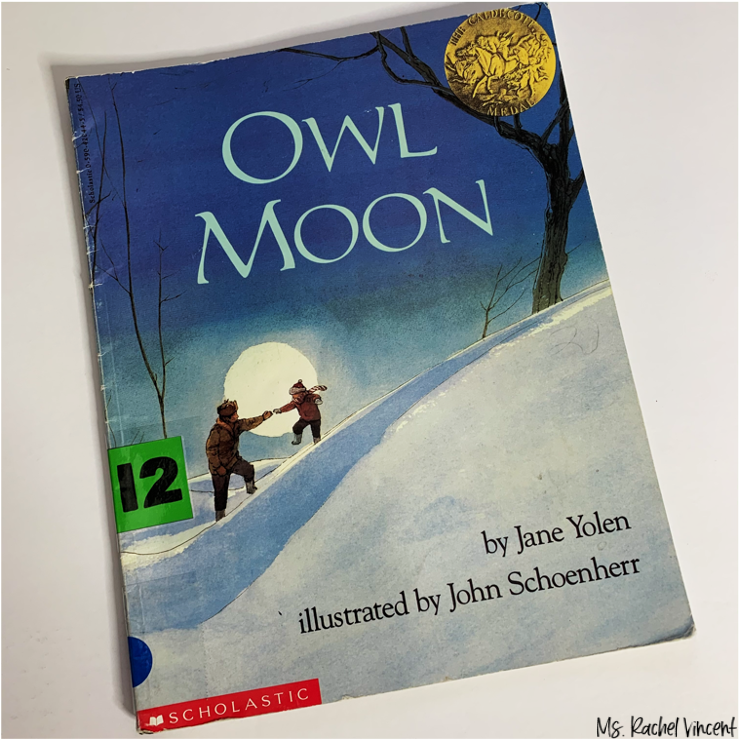 Owl Moon is an amazing book to use for figurative language.