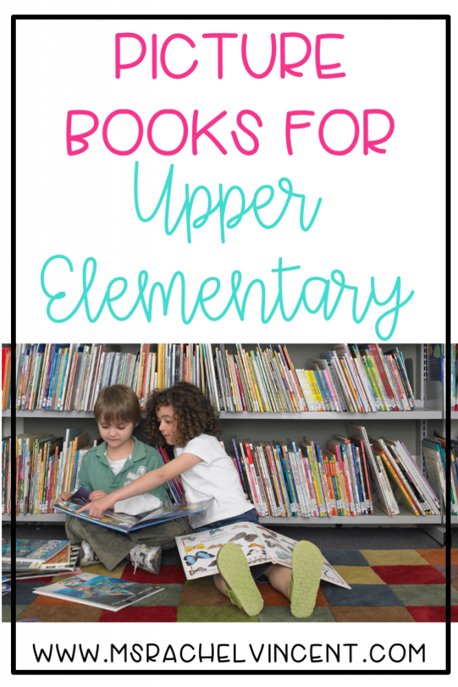 These books are perfect for teaching reading skills in the upper elementary classroom,