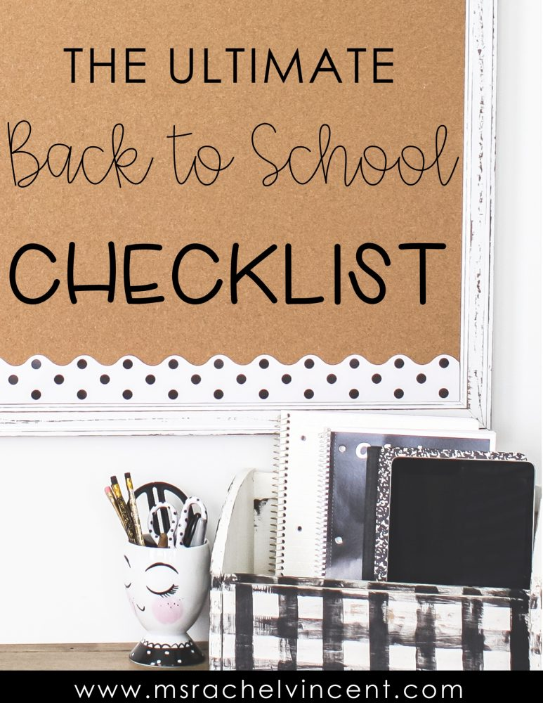 the ultimate back to school checklist