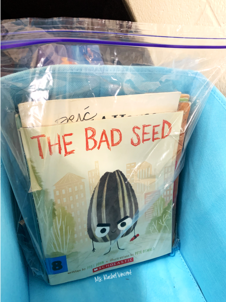 packing up your classroom library