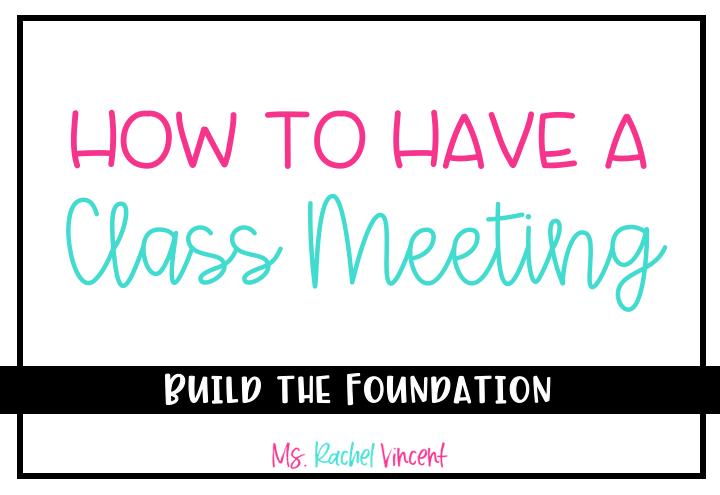 class meeting title
