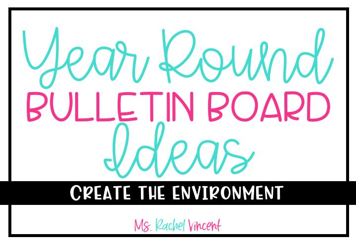 Year Round Bulletin Board Ideas